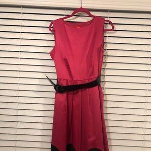 Oscar de la Renta pink dress size 10